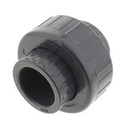 "1"" PVC Sch. 80 Union With EPDM O-Ring Seal<br>(S x S) Product Image"