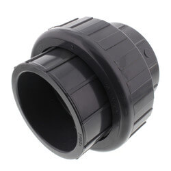 """3"""" PVC Sch. 80 Union With EPDM O-Ring Seal<br>(S x S) Product Image"""
