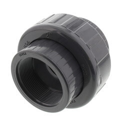 """2"""" PVC Sch. 80 Union With EPDM O-Ring Seal<br>(S x FPT) Product Image"""
