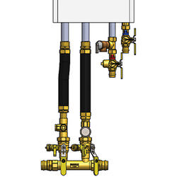 """1-1/4"""" Press Complete Near Boiler Manifold & Piping Kit for Select Combi Boilers Product Image"""