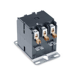 Type 154 3 Pole Contactor 120 VAC F191Coil<br>30 Amp Contacts Product Image