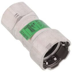 "1/2"" MegaPress 316 Stainless Steel Female Adapter (Press x Female) Product Image"