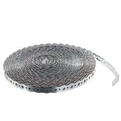 "3/4"" x 100' 24 Gauge Galvanized Round Steel Strapping Product Image"