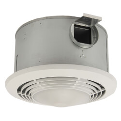 "9093WH Heater, Fan & Light Combo - 4"" Round Duct (70 CFM) Product Image"