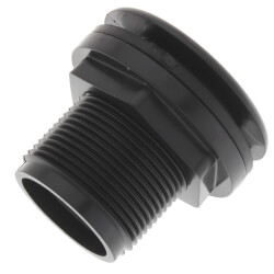 "3/4"" Domestic Bulkhead Fitting (Thread x Thread) Product Image"