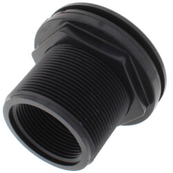 "1-1/2"" Domestic Bulkhead Fitting (Thread x Thread) Product Image"