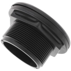 "1-1/2"" SHORT Domestic Bulkhead Fitting<br>(Slip x Slip) Product Image"