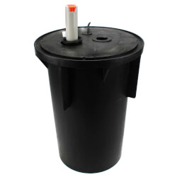 Pre-Assembled Sewage Pkg. System w/ M264 Auto Pump, Cover Product Image