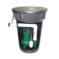 Model 912 (BN264) PSF18X30 Preassembled Simplex Sewage System, 115V, 4/10 HP(Underground) Product Image