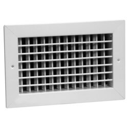 "8"" x 8"" 92HVO Steel Double Deflection Register, No Damper Product Image"