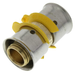 "1/2"" PEX Press Coupling w/ Sleeve (Lead Free) Product Image"