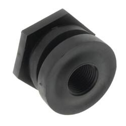 "1/2"" Heavy Duty PP Bulkhead Fitting<br>(Thread x Thread) Product Image"