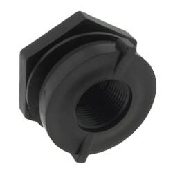 "1"" Heavy Duty PP Bulkhead Fitting<br>(Thread x Thread) Product Image"