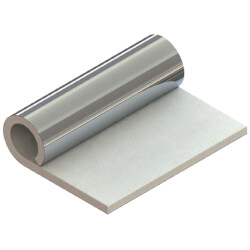 """Flame Guard, 2100F Superwool Blanket w/ Heavy Foil (12"""" x 10"""" x 1/2"""") Product Image"""