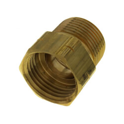 """PBGH6, 3/4"""" x 3/4"""" Garden Hose Adapter (FH x MIP) Product Image"""