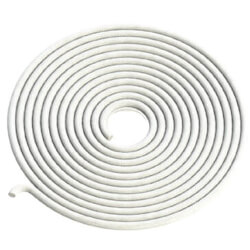 High Temperature Rope Gasket for Boiler & Furnace (1/2'' Diameter x 25ft) 1000F -White Product Image
