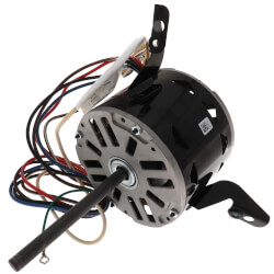"5-5/8"" 3-Speed Fleximount Fan/Blower Motor (277V, 1075 RPM, 1/4 HP) Product Image"