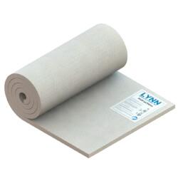 "Kaowool 2300F Ceramic Fiber Blanket (100"" x 24"" x 1"") Product Image"
