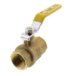 "3/4"" Full Port Economy Threaded Ball Valve Product Image"