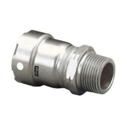 "1/2"" MegaPress 304 Stainless Steel Male Adapter (Press x Male) Product Image"