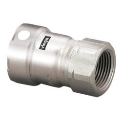 """1/2"""" MegaPress 304 Stainless Steel Female Adapter (Press x Female) Product Image"""