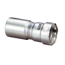 """3/4"""" FTG x 1/2"""" Press MegaPress 304 Stainless Steel Fitting Reducer Product Image"""