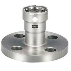 "1/2"" MegaPress 304 Stainless Steel Flanges, 4 Bolt Pattern Product Image"