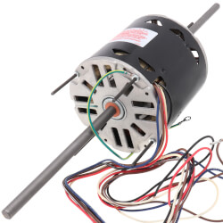 """5-5/8"""" Double Shaft Fan/Blower Motor (115V, 1075 RPM, 3/4 HP) Product Image"""