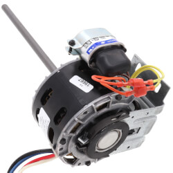 3-Spd Single Shaft Blower Motor (115V, 1100 RPM, 1/20, 1/75, 1/120 HP) Product Image