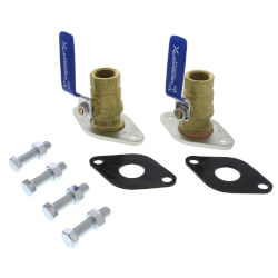 """3/4"""" GF 15/26 Bronze Dielectric Isolation Valve Pair (Threaded) Product Image"""