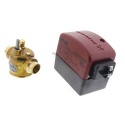 """1/2"""" Sweat UP-ZV 2-Way, Normally Closed Zone Valve Product Image"""