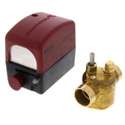 """3/4"""" Sweat UP-ZV 2-Way, Normally Closed Zone Valve w/ End Switch Product Image"""