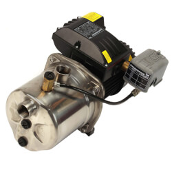 JP4-47ASI Shallow Well Jet Pump, Stainless Steel<br>(115V, 1/2 HP) Product Image