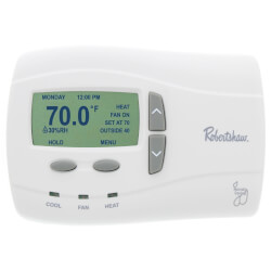 Programmable Thermostat (1 Heat - 1 Cool) Product Image