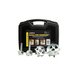 "Pipe Shredder Kit (4 Tools, sizes 1.5""-4"") Product Image"