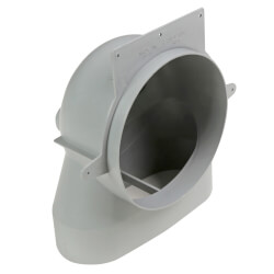 "4"" EasyAir Stack Head Elbow Product Image"
