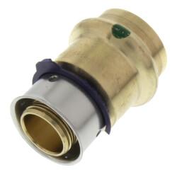 "3/4"" PEX Press x 3/4"" ProPress Adapter w/ Sleeve (Lead Free) Product Image"
