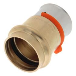"1"" PEX Press x 1"" ProPress Adapter w/ Sleeve (Lead Free) Product Image"