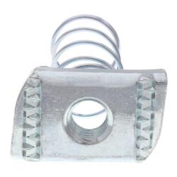 "3/8"" Electro-Galvanized Spring Nut Product Image"