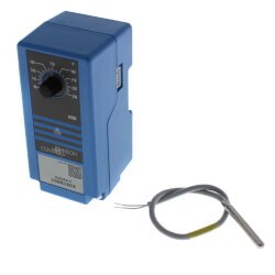 SPDT On/Off Electric Temperature Control, 90 to 250F, 1-30 Diff (24V) Product Image