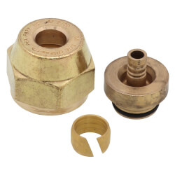 "5/16"" QS-style Fitting Assembly - R20 thread Product Image"