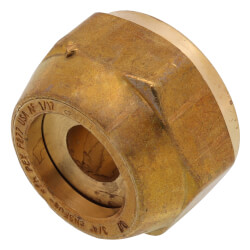 """3/4"""" QS-style Fitting Assembly, R25 thread<br>(Not for Loop Connections) Product Image"""