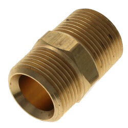 "Conversion Nipple<br>R20 x 3/4"" NPT Product Image"