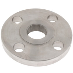 "1"" Stainless Steel ANSI<br>RF Threaded Flange Product Image"