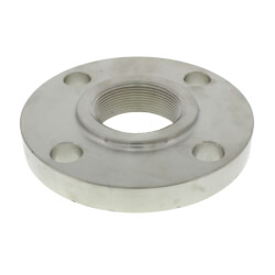 "2"" Stainless Steel ANSI<br>RF Threaded Flange Product Image"