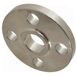"1/2"" Stainless Steel<br>ANSI RF Slip-On Flange Product Image"