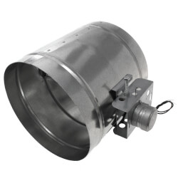 """10"""" Normally Closed<br>Shut-off Damper<br>with Motor (24V) Product Image"""