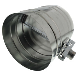 """12"""" Normally Closed<br>Shut-off Damper<br>with Motor (24V) Product Image"""