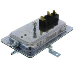 "SPDT Air Pressure Sensing Switch (.05"" - 2.0"" W.C.) Product Image"