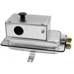 SPDT Air Pressure Sensing Switch w/ manual reset Product Image